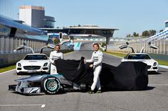 Silver arrows launched in Jerez