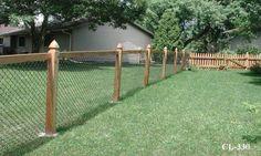 Great front yard fencing idea...