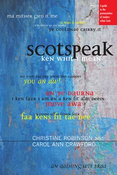 This book is an articulatory reference guide for actors and anyone fascinated by the modern Scots language. It focuses on the particular dialects and accents of Aberdeen, Glasgow, Dundee and Edinburgh. Scottish Accent, Scottish Gaelic, Carol Ann, Scottish Actors, Book Writer, Talk To Me, Literature, This Book, Writing