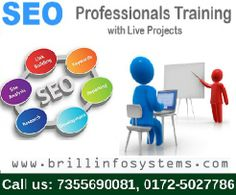 Our search engine optimization professional team offers excellent SEO Industrial Training in chandigarh, About all the On page and Off page optimization tricks and tips. Get depth training in #SEO, #SMM, #SMO and all numerous internet marketing techniques!