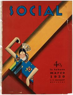 Social - Front Cover: Marzo 1930