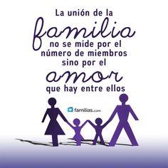 La unión de familia se mide en amor