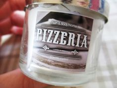 pizza candle?!? Bath and Body Works candles