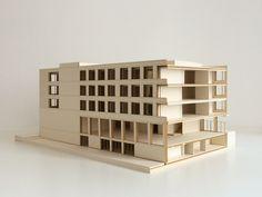 Amelie Barth | Schule | Schnittmodell | Entwerfen und Gebäudelehre II | Bauhaus-Universität Weimar