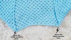 blue lagoon cardigan crochet Beginner Crochet Tutorial, Crochet For Beginners, Basic Crochet Stitches, Crochet Basics, Crochet Cocoon, Free Crochet, Half Double Crochet, Single Crochet, Crochet Cardigan Pattern