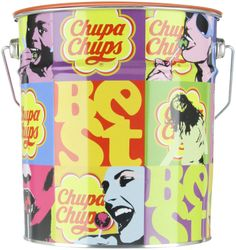 Amazon.com : Chupa Chups Best of Lutscher 150er Pop Art Metalldose, 1er Pack (1 x 1.8 kg) : Suckers And Lollipops : Grocery & Gourmet Food