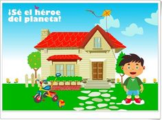 """""""¡Sé el héroe del planeta!"""" Family Guy, Christmas Ornaments, Games, Header, Holiday Decor, Fictional Characters, Science Area, Save Our Earth, Teaching Resources"""