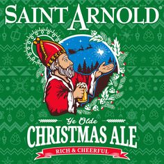 Christmas Ale is a rich, copper colored, hearty ale perfect for the holiday season with a malty sweetness and spicy hop character. Saint Arnold Brewing Company   Seasonal Beers #craftbeer #houstoncraftbeer#texascraftbeer