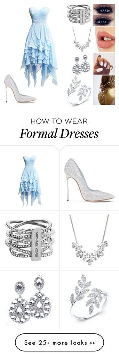 """Untitled #18"" by missdolan on Polyvore featuring moda, Casadei, Charlotte Tilbury, Givenchy e Michael Kors"