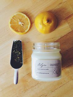 Calypso  Mint & Eucalyptus Scented Soy Candle  by AndThePeople, $18.00