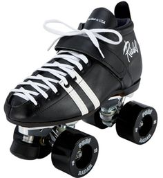 Riedell Roller Skates - total overkill for just skating around for fun, but they're so cool looking! <3