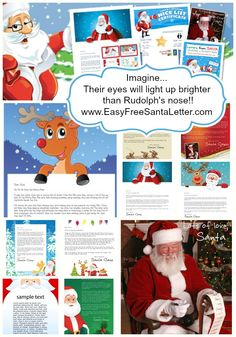 Easy free letter from santa magical package pinterest santa easy free letter from santa magical package spiritdancerdesigns Choice Image