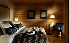Ferme de Moudon is a charming luxury ski chalet in Le Gets, France, with a sunken outdoor hot tub and is part of the Firefly Collection. Chalet Design, Chalet Style, Ski Chalet, Live In Style, Japanese Interior, Luxury Accommodation, Spacious Living Room, France, Luxury Living