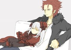 Mikoto and Anna // K Project