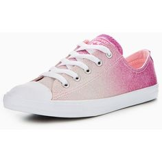 b72b2e61707ef0 Converse Chuck Taylor All Star Dainty Ombre Metallic Ox ( 70) ❤ liked on  Polyvore featuring shoes