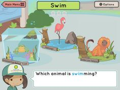 New FREE app for kids by Smithsonian Institution: Shutterbugs: Wiggle and Stomp for iPad Education Center, Science Education, My Little Kids, Cute App, Action Verbs, In The Zoo, Vocabulary Games, Reward System, Children With Autism