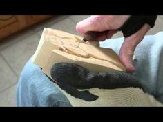 Carving The Folk Art Angel Part 1