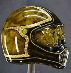 Badass Helmet Art with bombshell_deluxe