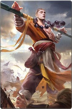 Viajante do deserto  Ab:tempestade de areia  Faça uma tempestade de areia acontecer em absolutamente qualquer lugar Fantasy Male, Fantasy Rpg, Fantasy World, Medieval Fantasy, Fantasy Warrior, Character Sketches, Character Portraits, Character Concept, Art Sketches