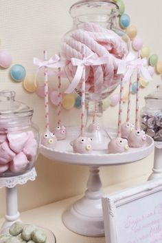 Cake Pops at a Sugar and Spice Baby Shower #babyshower #cakepops
