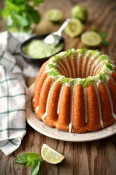 Coconut Mojito Bundt Cake - http://gostinhos.com/coconut-mojito-bundt-cake/