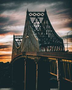 Fun fact of the day, the Jacques Cartier Bridge is 86 years old. Picture by @refinedmontreal #mtlblog #mtlblognews #montreal #montréal #quebec #québec #mtl #livemontreal #mtlmoments