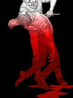 I swear Hannibal fanart is SOOO GOOD LIKE...HOW?