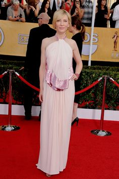 SAG Awards 2014 Red Carpet Cate Blanchett in Givenchy and Chopard