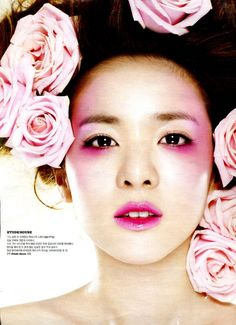 Dara (2NE1) for Etude House. Currently obsessed with Etude House cosmetics.