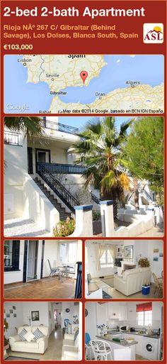 2-bed 2-bath Apartment in Rioja Nº 267 C/ Gibraltar (Behind Savage), Los Dolses, Blanca South, Spain ►€103,000 #PropertyForSaleInSpain