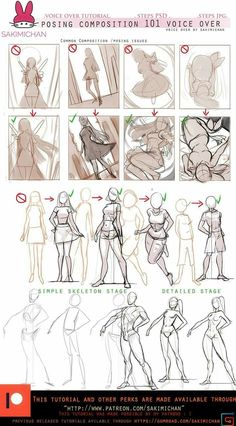 More dynamic poses