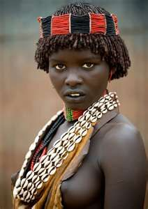 Omo River - Hamer people Africa on Fotopedia Photo by Eric Lafforgue Eric Lafforgue, African Tribes, African Women, African Girl, We Are The World, People Around The World, African Beauty, African Fashion, Population Du Monde
