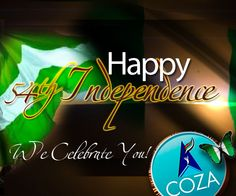 It's been 54 years of God's faithfulness. Happy Independence!!! Fear not! It can only get better. God who began the good work is faithful to complete it. We Celebrate You!