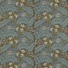 The Original Morris & Co - Arts and crafts, fabrics and wallpaper designs by William Morris & Company | Products | British/UK Fabrics and Wallpapers | Larkspur (DKELLA302) | Pimpernel Weaves