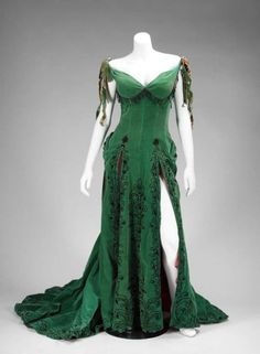 Green velour dress worn by Marilyn Monroe in The River of No Return
