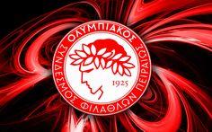 Olympiakos Football Score, World Football, Uefa Champions League, Sports Logo, Logos, Flag, Instagram, Greece, Santorini