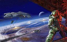 Master Chief (Halo 2) artwork