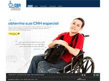 Layout de Site Criado para a Clínica credenciada para perícia médica e portadores de necessidades especiais. #criative #sites #criacaodesites #cnh #agencia www.visiondesign.com.br