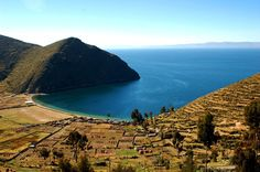 Isla del Sol, Lake Titicaca, Bolivie