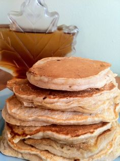 Dairy Free Banana Pancakes- made a double batch of these today with 3 bananas! They were gobbled up!