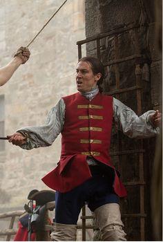 Tobias Menzies as Black Jack Randall on #Outlander ......................................