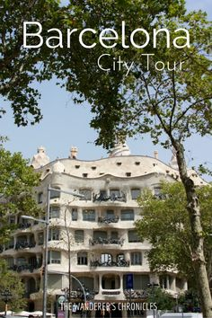 The Wanderer's Chronicles: Chronicles from Barcelona | Casa Milà - La Pedrera
