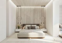 19 Extravagant Bedroom Ideas That You Obviously Must See Master Bedroom Interior, Master Room, Home Decor Bedroom, Bedroom Ideas, Bedroom Art, Master Bedrooms, Minimal Bedroom, Modern Bedroom, Apartment Interior