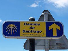 Señal a la entrada de Santiago