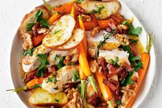 This amazing roast chicken salad is perfect for busy weeknights.
