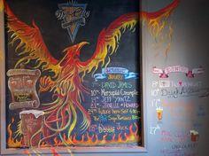 The Phoenix rises at Tri-City Brewing Company.