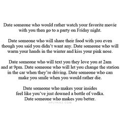 Quotes about dating someone new