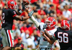 georgia football in game action | Recent Photos The Commons Getty Collection Galleries World Map App ...