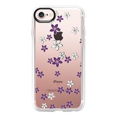 'the secret garden-purple, transparent' by Lucia - iPhone 7 Case And... (115.850 COP) ❤ liked on Polyvore featuring accessories, tech accessories, iphone case, iphone cover case, clear iphone case, transparent iphone case, iphone cases and purple iphone case