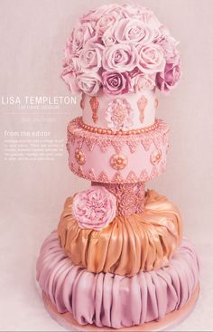 Cake by Lisa Templeton   Issue Three 2014 from SweetMagazine